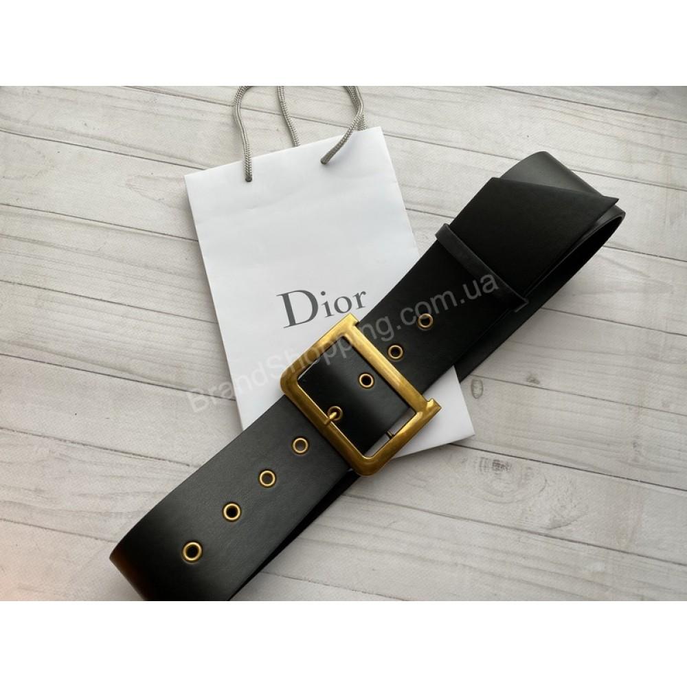 Ремень Dior ширина 7см натуральная кожа арт21484