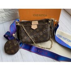 Сумка клатч Louis Vuitton 3в1 Multi Pochette  арт21487