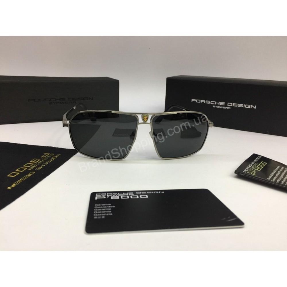 НОВИНКА 2018 Солнцезащитные мужские очки Porsche Design в полном комплекте арт 2078