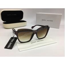 НОВИНКА 2018 Солнцезащитные женские очки Marc Jacobs в коричневом цвете арт 2076
