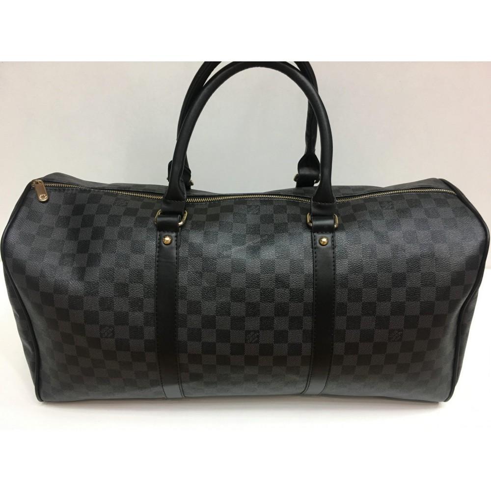 Спортивная сумка Louis Vuitton серая 1440