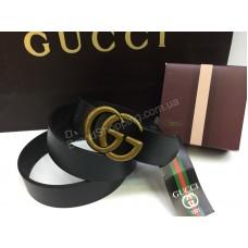 Ремень из натуральной кожи Gucci пр-во Турция арт 20199