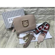 Женская сумочка Furla Lux реплика в пудровом цвете арт20599