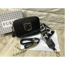 Женская сумочка Furla Lux реплика в черном цвете арт20600