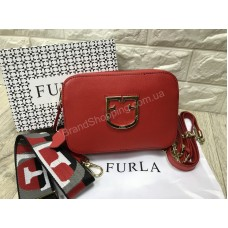 Женская сумочка Furla Lux реплика в красном цвете арт20601