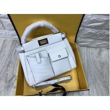 Стильная сумочка Fendi реплика натуральная кожа арт 20604