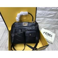 Стильная сумочка Fendi реплика натуральная кожа арт 20605