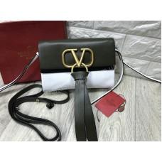 Женская сумочка Valentino Lux натуральная кожа арт 20606