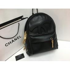 Женский рюкзак Chanel черный 1312