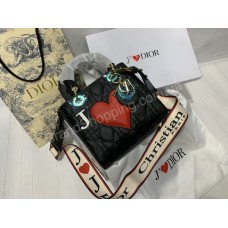 Сумочка Christian Dior Love в полном комплекте копия класса ААА арт 20400
