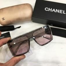 Солнцезащитные женские очки Chanel  в полном комплекте арт21511