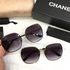 Женские солнцезащитные очки Chanel  в полном комплекте арт21514