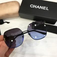 Женские солнцезащитные очки Chanel  в полном комплекте арт21515