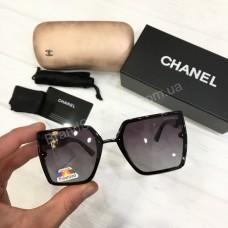 Солнцезащитные женские очки Chanel с поляризацией в полном комплекте арт21517