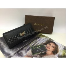Кошелек из натуральной кожи Gucci в полном комплекте 1600