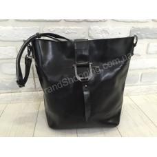 Женская кожаная сумка Solana 0273s black
