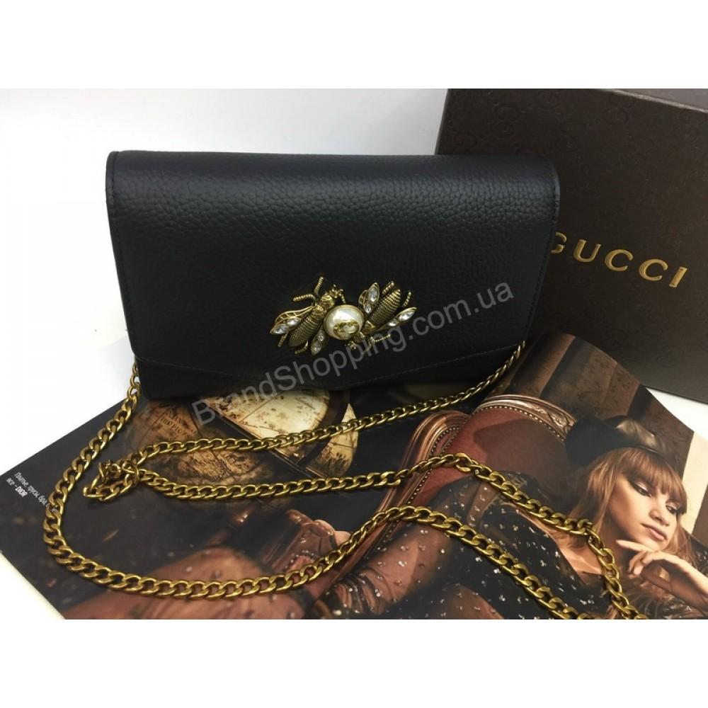 Эксклюзивная сумочка-клатч Gucci в полном комплекте 1605