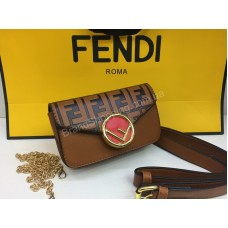 NEW Бананка-сумочка Fendi в рыжем цвете арт 20205
