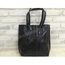 Женская кожаная сумка Solana 0277s black