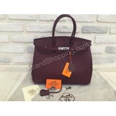 Женская кожаная сумка Hermes Birkin 0284s