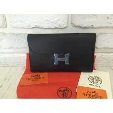 Кожаный стильный кошелек Hermes 0502