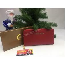 Кошелек Michael Kors Red в подарочной упаковке 0011s