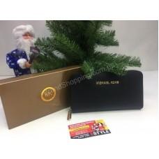 Кошелек Michael Kors Black в подарочной упаковке 0010s