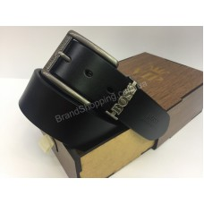 Мужской ремень 4.5см Hugo Boss в подарочной упаковке арт 20215