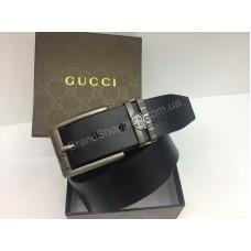 Ремень  Gucci из натуральной кожи в подарочной упаковке арт 20219