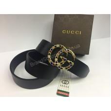 Ремень Gucci из натуральной кожи в подарочной упаковке арт 20228