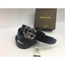 Ремень Gucci из натуральной кожи в подарочной упаковке арт 20229