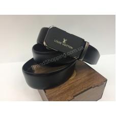 Шикарный кожаный ремень Louis Vuitton в подарочной упаковке арт 20235
