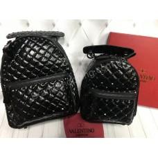 Стильный кожаный рюкзак Valentino арт 20478