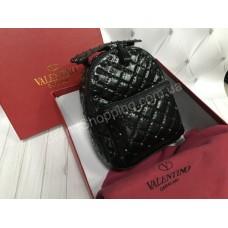 Стильный кожаный рюкзак Valentino арт 20477