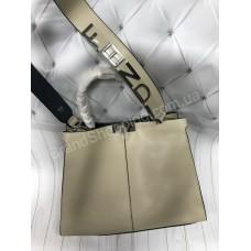 Хит!Стильная сумочка  Fendi из натуральной плотной кожи арт 20475