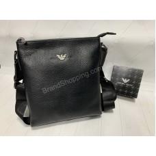 Мужская сумка Giorgio Armani натуральная кожа арт20419