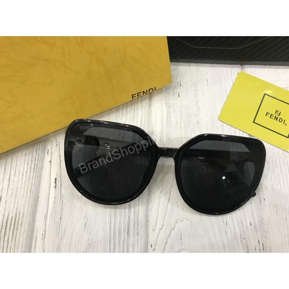 Очки Fendi Lux темная линза в полном комплекте арт 20558