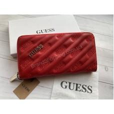 Кошелек Guess красный реплика в коробке арт21434