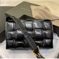 Сумка Botteva Veneta цвет черный из натуральной кожи арт21458