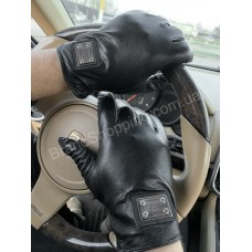 Мужские перчатки Philipp Plein арт 20373