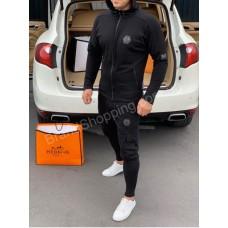 Мужской спортивный костюм Philipp Plein черный арт 20381
