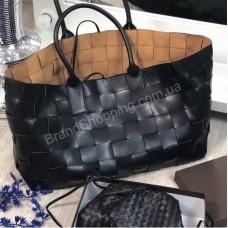 Сумка Bottega Veneta Tote Bag реплика цвет черный арт 21165